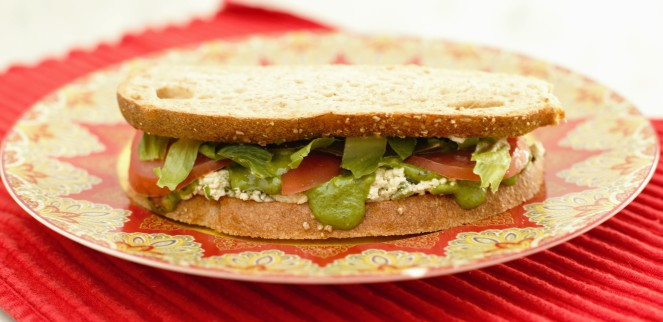 Tofu Sandwich 2